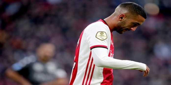 Paris pense à Hakim Ziyech l'été prochain — Mercato PSG