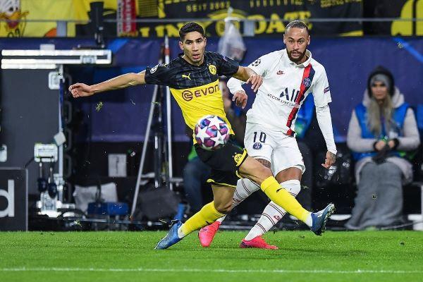 Hakimi contre Naymar