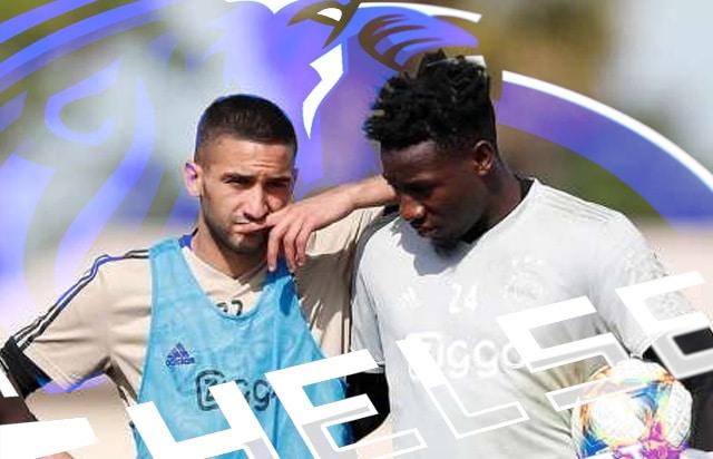Ziyech espère Onana à Chelsea