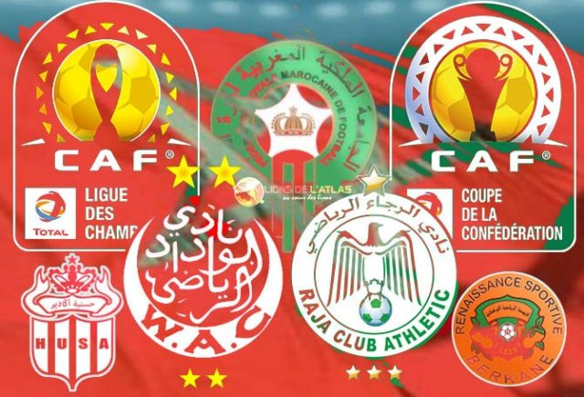 clubs marocains en compétitions africaines