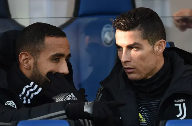 Benatia et Ronaldo