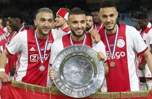 Le trio marocain de l'Ajax