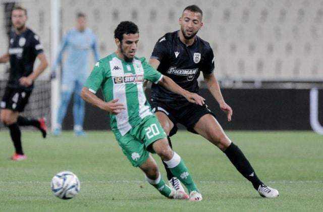 Yassin Ayoub en duel contre Omar El Kaddouri