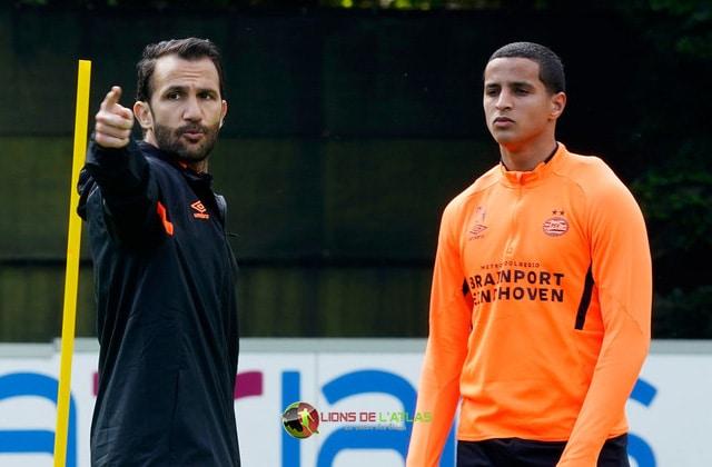 Adil Ramzi et Mohamed Ihattaren