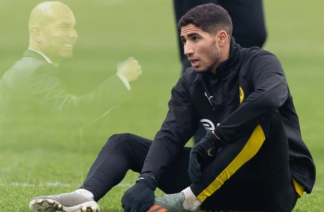 Zidane parle de Hakimi