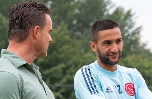 Dernière journée de Ziyech avec l'Ajax
