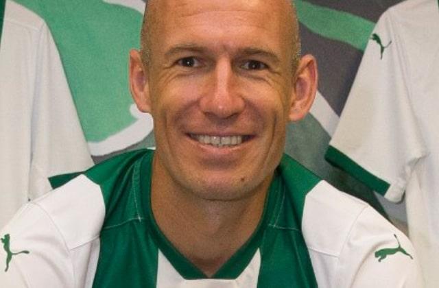 Arjen Robben avec trois marocain