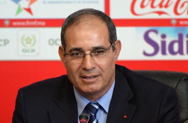 Badou Zaki, ancien patron des Lions de l'Atlas