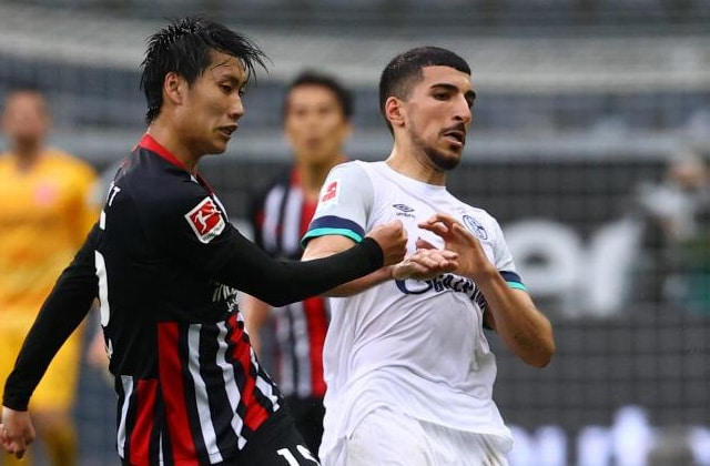 Nassim Boujellab contre Francfort