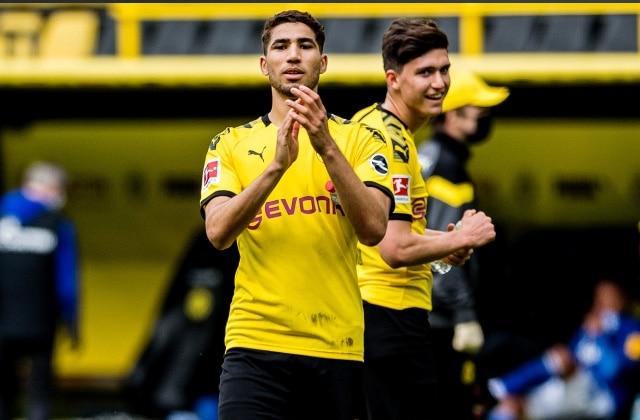 achraf hakimi quitte la Bundesliga