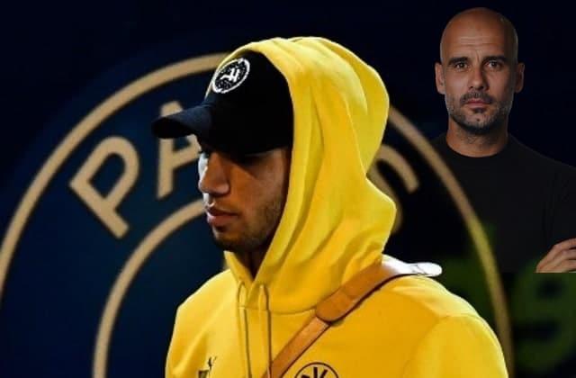 Hakimi courtisé par Pep Guardiola
