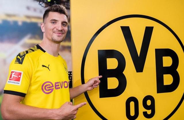 Thomas Meunier à Dortmund