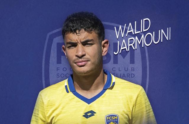 Walid Jarmouni signe pro à Sochaux