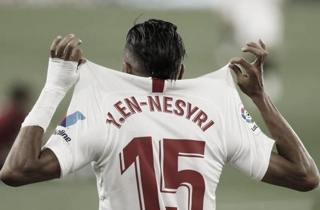 Youssef En-Nesyri heureux d'avoir marqué