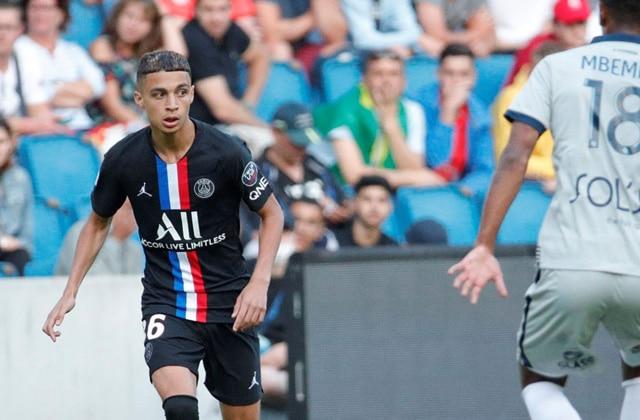 Kays Ruiz-Atil fait ses débuts avec le PSG