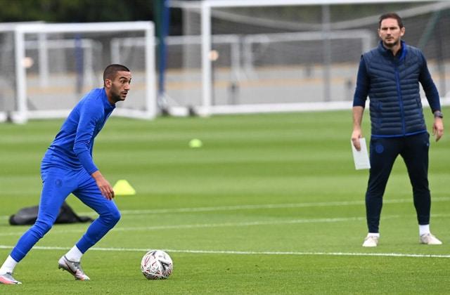 Lampard satisfait de l'arrivée de Ziyech