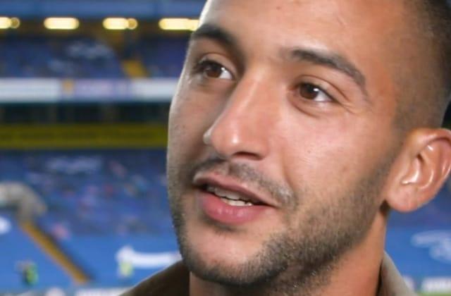 Première interview de Ziyech accordée à Chelsea TV