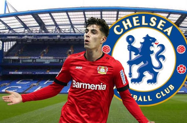Kai Havertz vers Londres