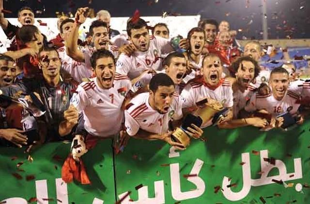 Les Lions de l'Atlas A' sacrés Champions arabe