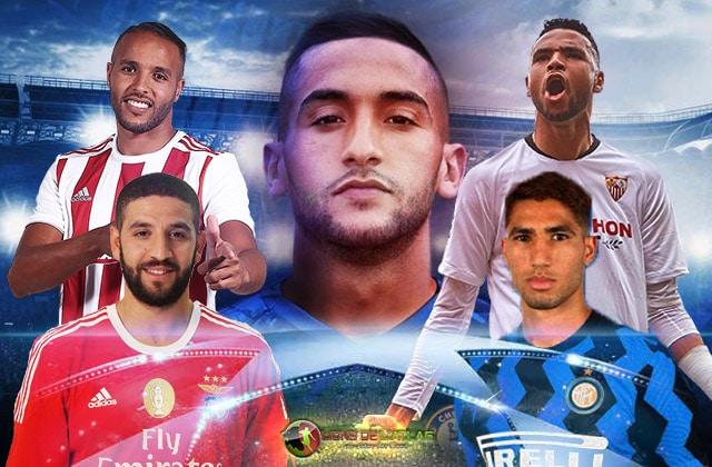 Marocains en Ligue des Champions UEFA
