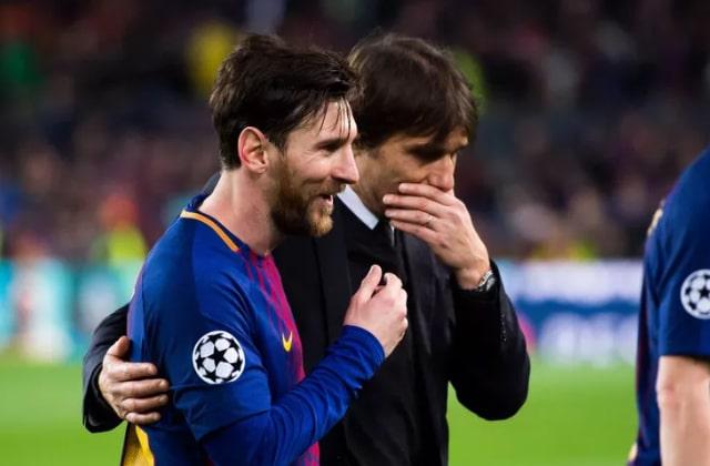 Messi avec Conte