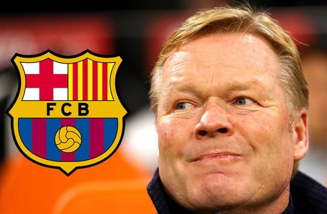 Koeman coach du FC Barcelone