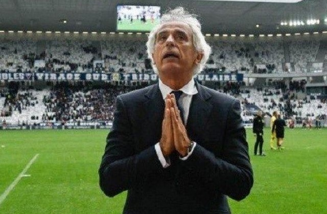 vahid Halilhodzic triste pour le PSG