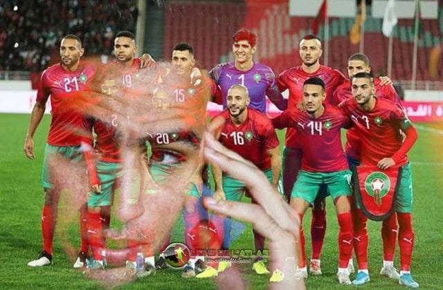 El Haddadi avec les Lions de l'Atlas