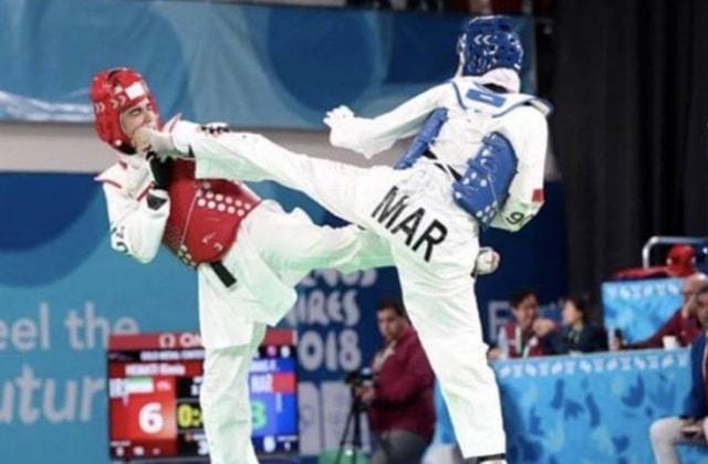 taekwondoïstes marocains