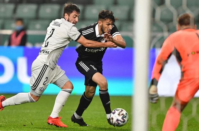 Abdellah Zoubir buteur contre Legia