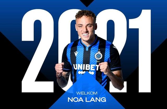 Noa Lang au FC Bruges