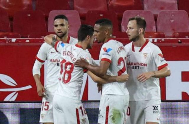 Koundé et son échange avec Guardiola — Séville