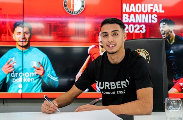 Naoufal Bannis prolonge à Feyenoord