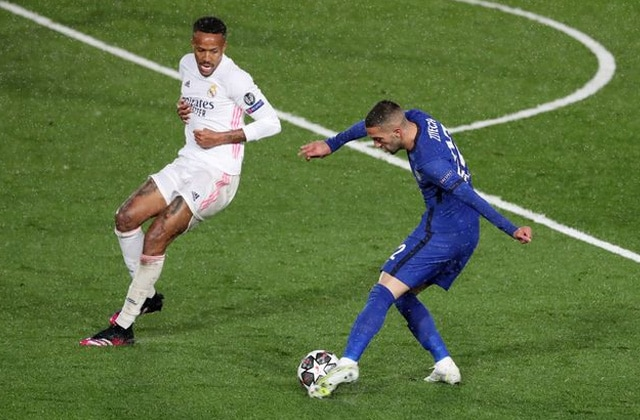 Hakim Ziyech contre Madrid