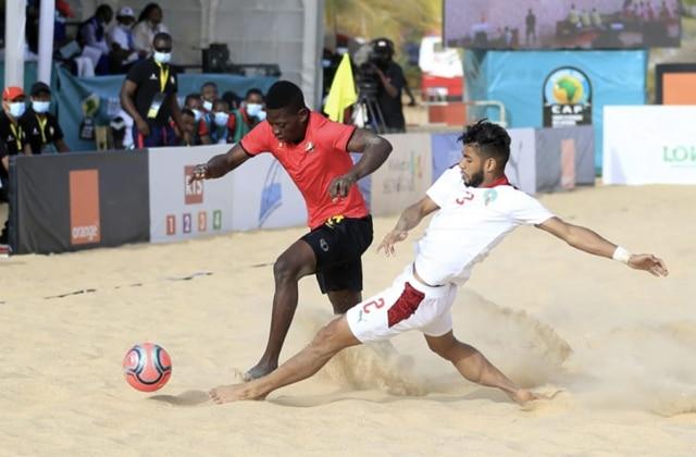 Beach Soccer Maroc