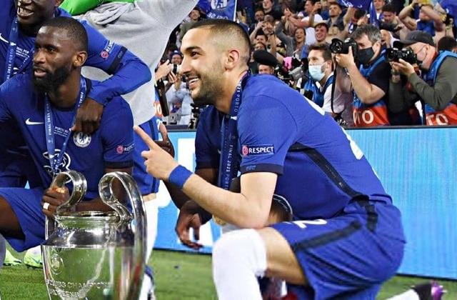Hakim Ziyech Ligue des Champions