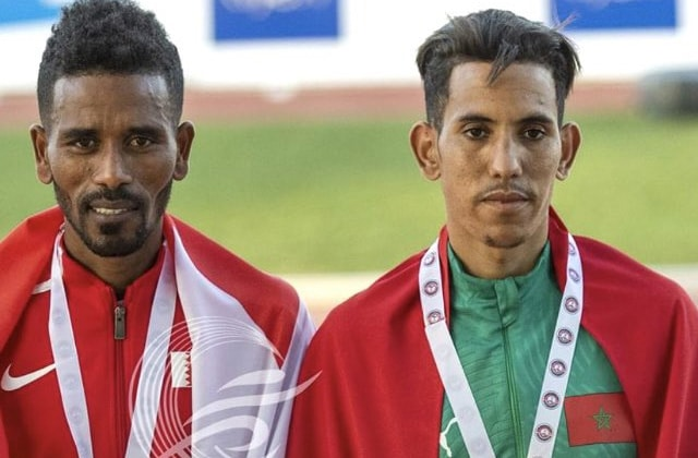 athlétisme arabe