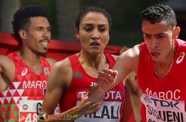 Lions de l'Atlas Maroc Athlétisme