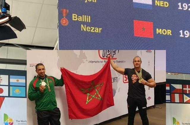 Nezar Ballil wins bronze medal