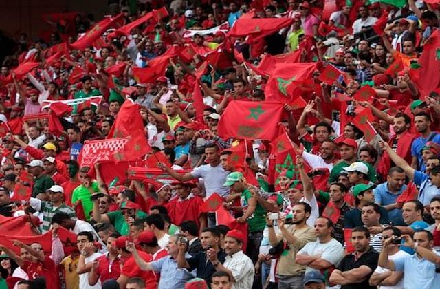 Supporters marocains Lionsdelatlas.ma